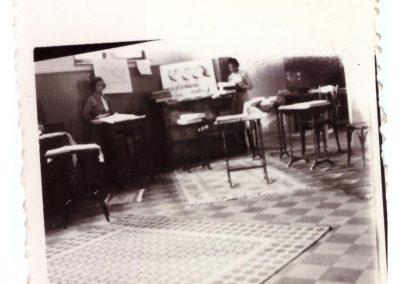 Expozitie 1934 , holul liceului