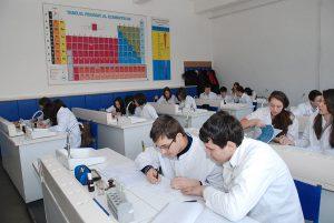 Laboratorul de chimie