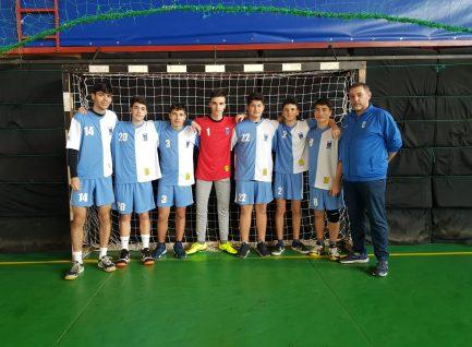 Locul I  – Handbal baieți  – Faza municipala a ONSS